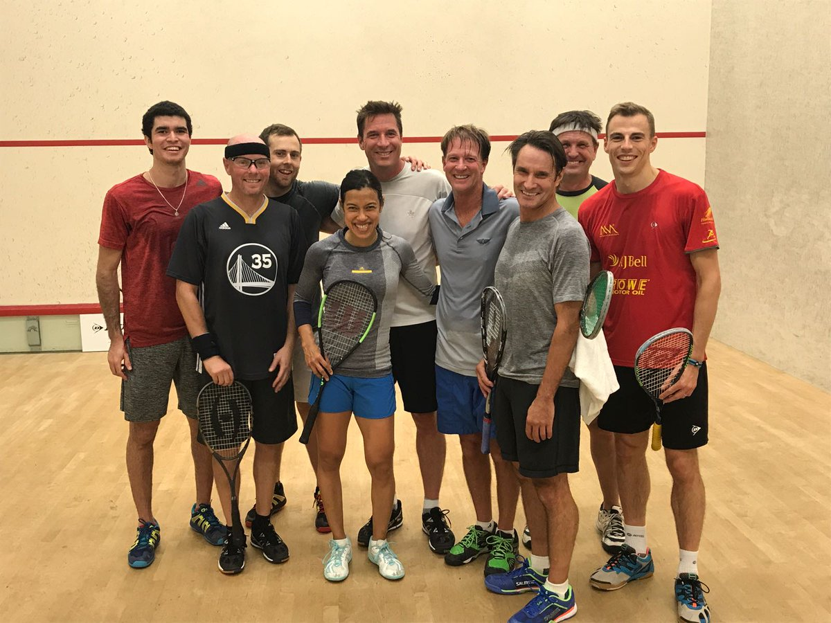 Taking on the Bay Club San Francisco boys at the ProAm session. Thanks!  #oraclenetsuiteopen2017 #SanFrancisco  #wilsonbladecv<br>http://pic.twitter.com/PLUvXjeiuV