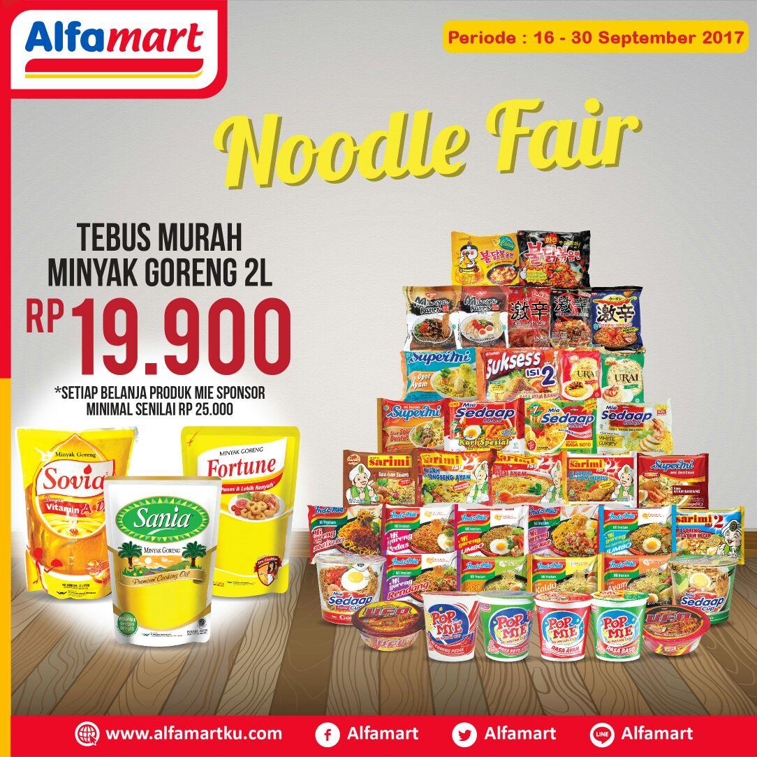 Dapaktan promo Noodle Fair di Alfamart yang serba hemat dan serba murah. Info lengkap klik https://t.co/J1VkCLPGDu https://t.co/5BoguLmhPc