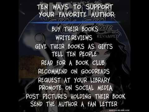 Some ways to support your favourite author... #books #Author #authors #writers #writersoftwitter #readers #BookClub #BookAddict<br>http://pic.twitter.com/TihdcMUtHh