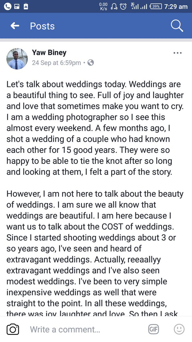 I shared my thoughts on the cost of weddings and why people prefer expensive or inexpensive weddings. Spare a minute to read. #wedding <br>http://pic.twitter.com/TALoijfs0w
