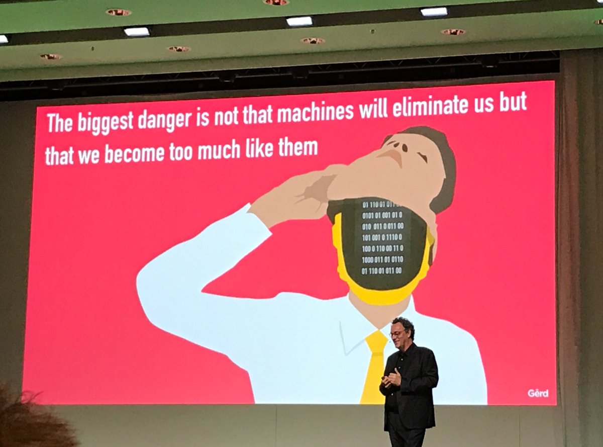 The picture says it all #future #digitalization #humanity #AteaFocus @gleonhard<br>http://pic.twitter.com/F6DeU9SFY2