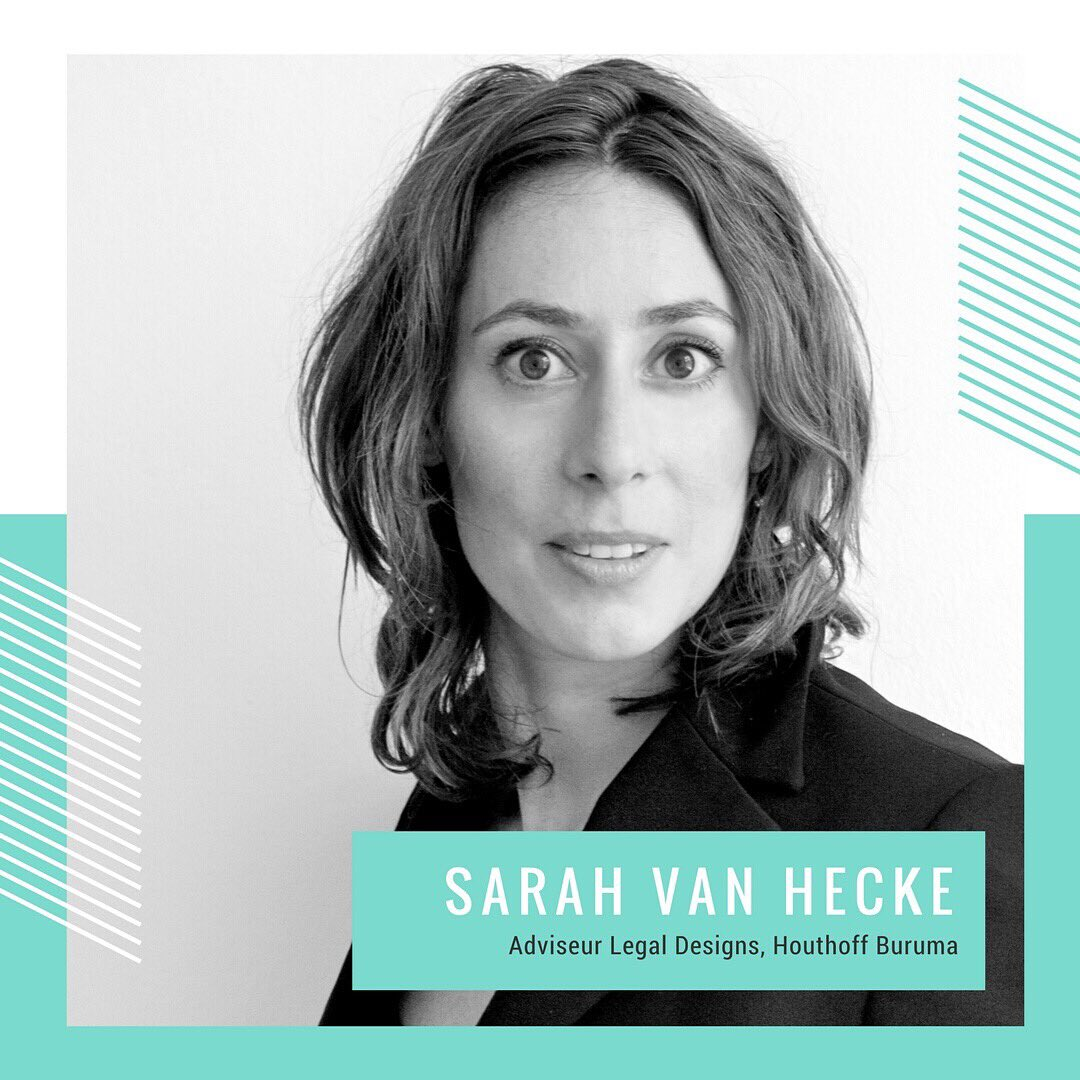 Top law firms of the world are Designed to Deliver. How? Sarah van Hecke, #legaldesign consultant @HouthoffBuruma will show you. #legaltech <br>http://pic.twitter.com/qj9cWCmTBG