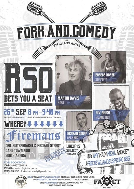 Fan of stand-up comedy? Don&#39;t miss the popular @ForkandComedy show at FiremansArms tonight! See details on the poster. #comedy #standup<br>http://pic.twitter.com/BPimbgWvJG