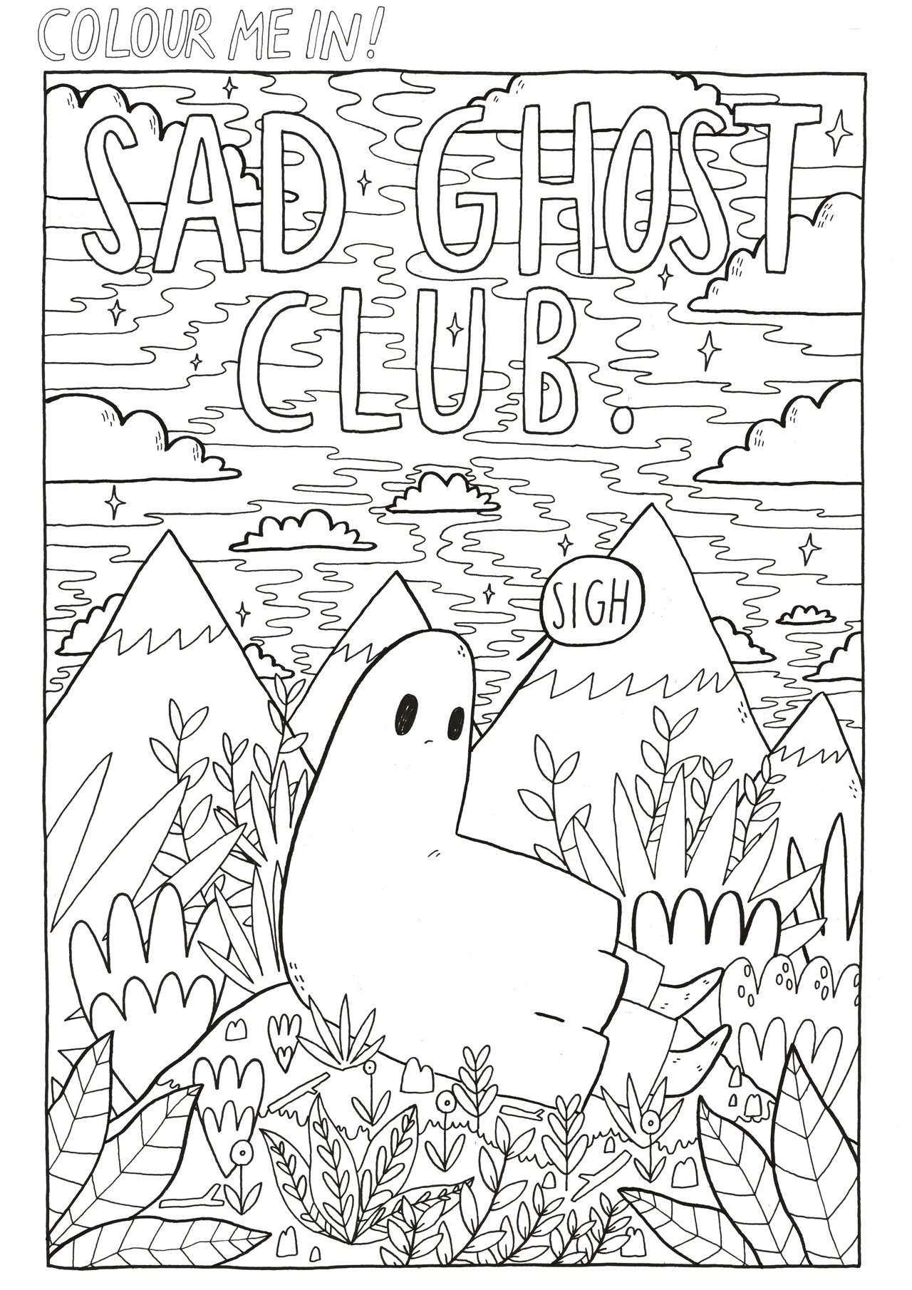 """The Sad Ghost Club on Twitter: """"Why not get creative today ..."""