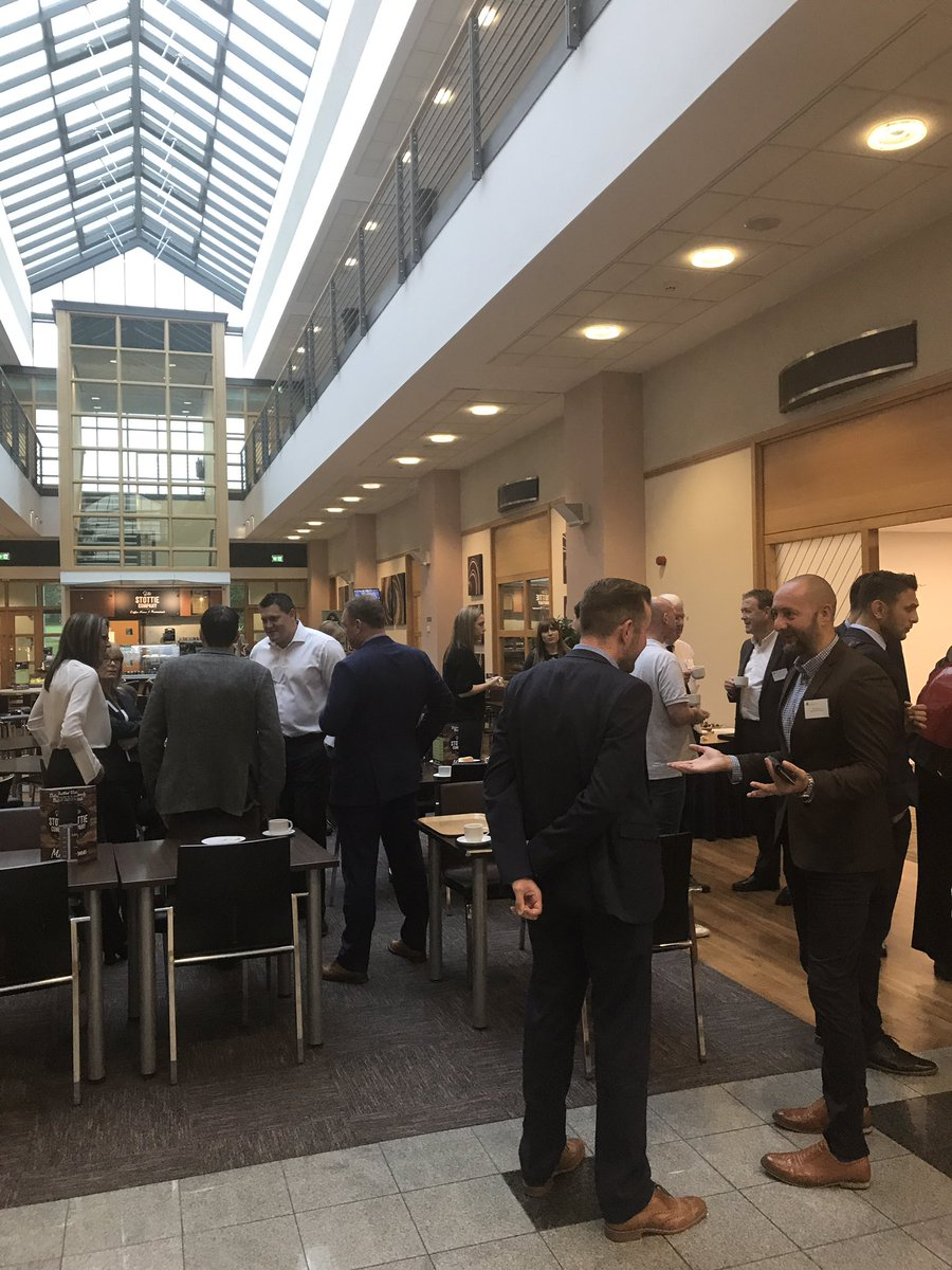 #Networking before our #CyberSecurity breakfast event with @LandscapeNets @censornet and @Distology - @Wynyard_BP<br>http://pic.twitter.com/BOqcdUNnYL