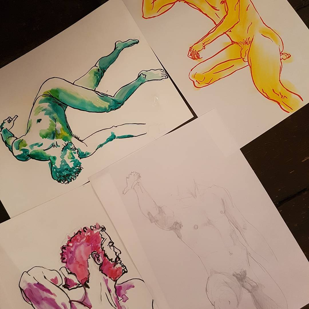 Pinto here to inspire drawing tonight @StarbyHD Paper &amp;  here for you too just £7 DROP IN 7.30pm-9pm #lifedrawing #hackney #draw #drawing<br>http://pic.twitter.com/fvN7ZOVyPh