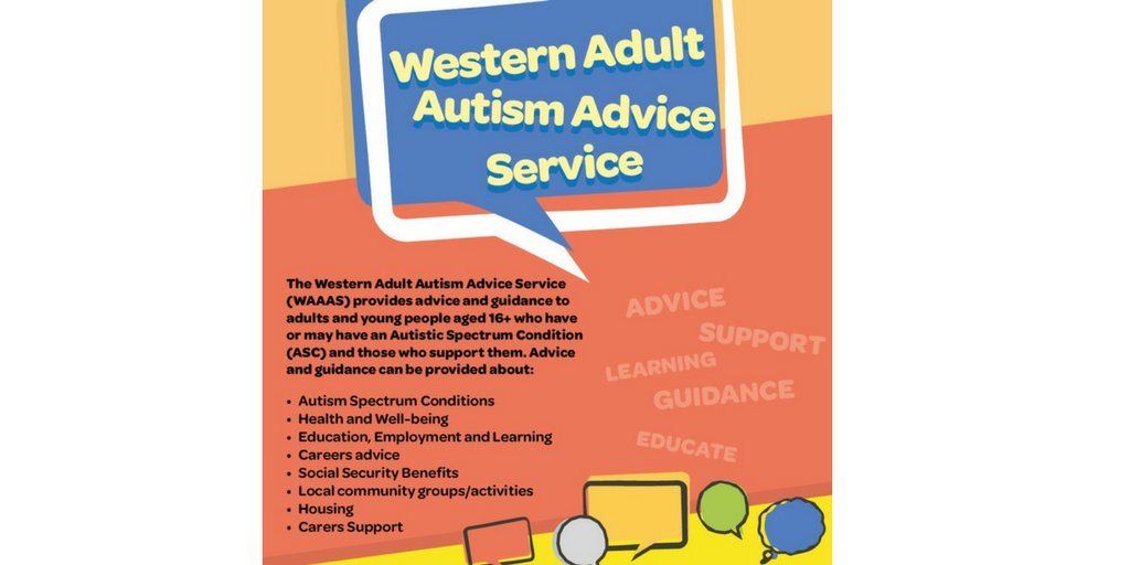 Adult #Autism Advice Service: 5th October 2017 @ 1.30pm – 4.30pm - Derry Central Library (16+). No appointment needed. #support #contacts <br>http://pic.twitter.com/z1mzBGYpG2