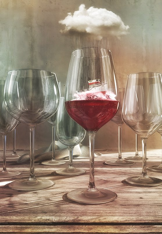 &quot;Any Port in a Storm&quot;, because who doesn&#39;t love wine and wordplay?   http:// ow.ly/Lbd730fr1kN  &nbsp;    #wine #surreal<br>http://pic.twitter.com/GiGWx6b3yA