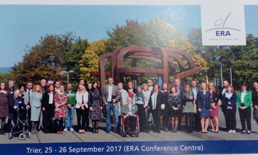 Learning and sharing experiences about #EU #DisabilityLaw &amp; #CRPD #Litigation #echr in @ERATrier with colleagues from all over #Europe<br>http://pic.twitter.com/vjNWqcapwI
