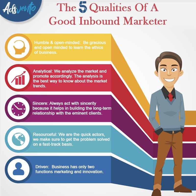 Qualities of #InboundMarketing #SEO #SocialMedia #Contentmarketing #Mpgvip #defstar5 #Makeyourownlane #DigitalMarketing #Marketing #Adsvento<br>http://pic.twitter.com/xwzYCi4CAH
