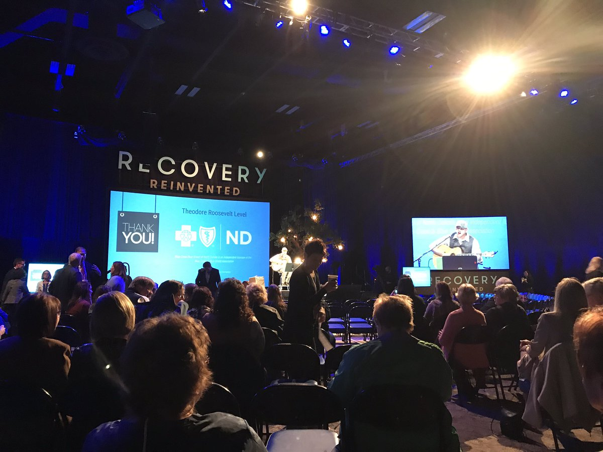 Dream.Hope.Act. Looking forward to Gov. @DougBurgum &amp; @FirstLadyND program at #RecoveryReinvented. #addiction #eliminatestigma #solutions <br>http://pic.twitter.com/3YEHS8j2tr