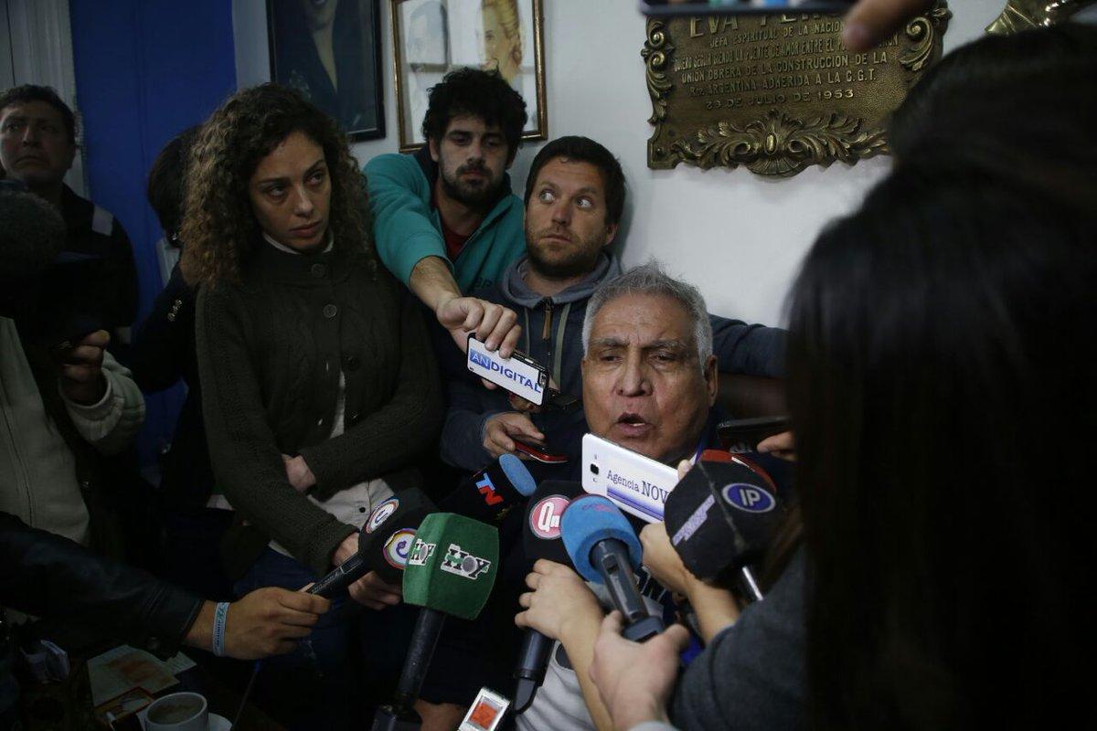 Ordenaron la detención del Pata Medina — UOCRA