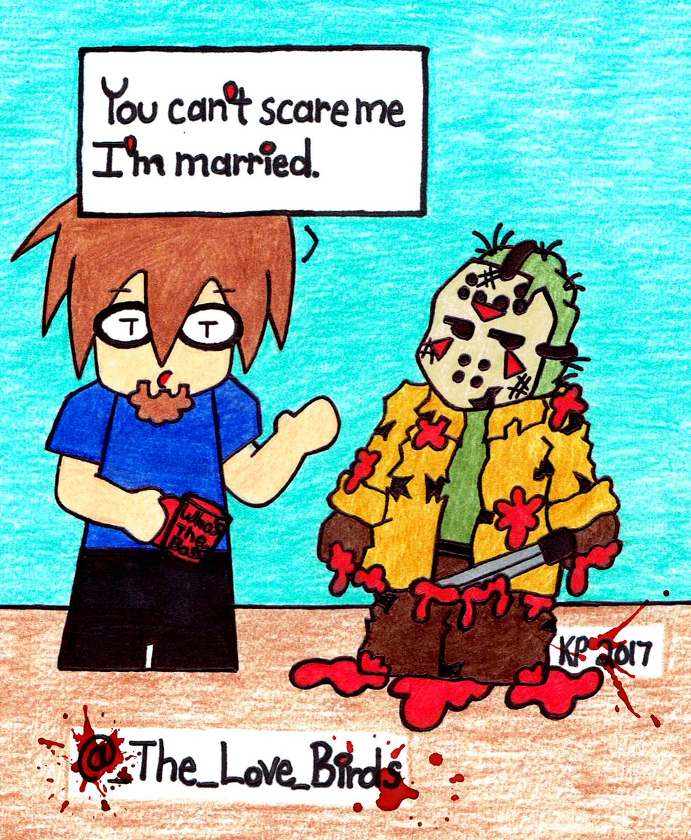 When Your Wife Is More Scary Then Jason. #MarriedLife #FridayThe13th #marriage #comic #spoonielife<br>http://pic.twitter.com/PXqNWiQs8d