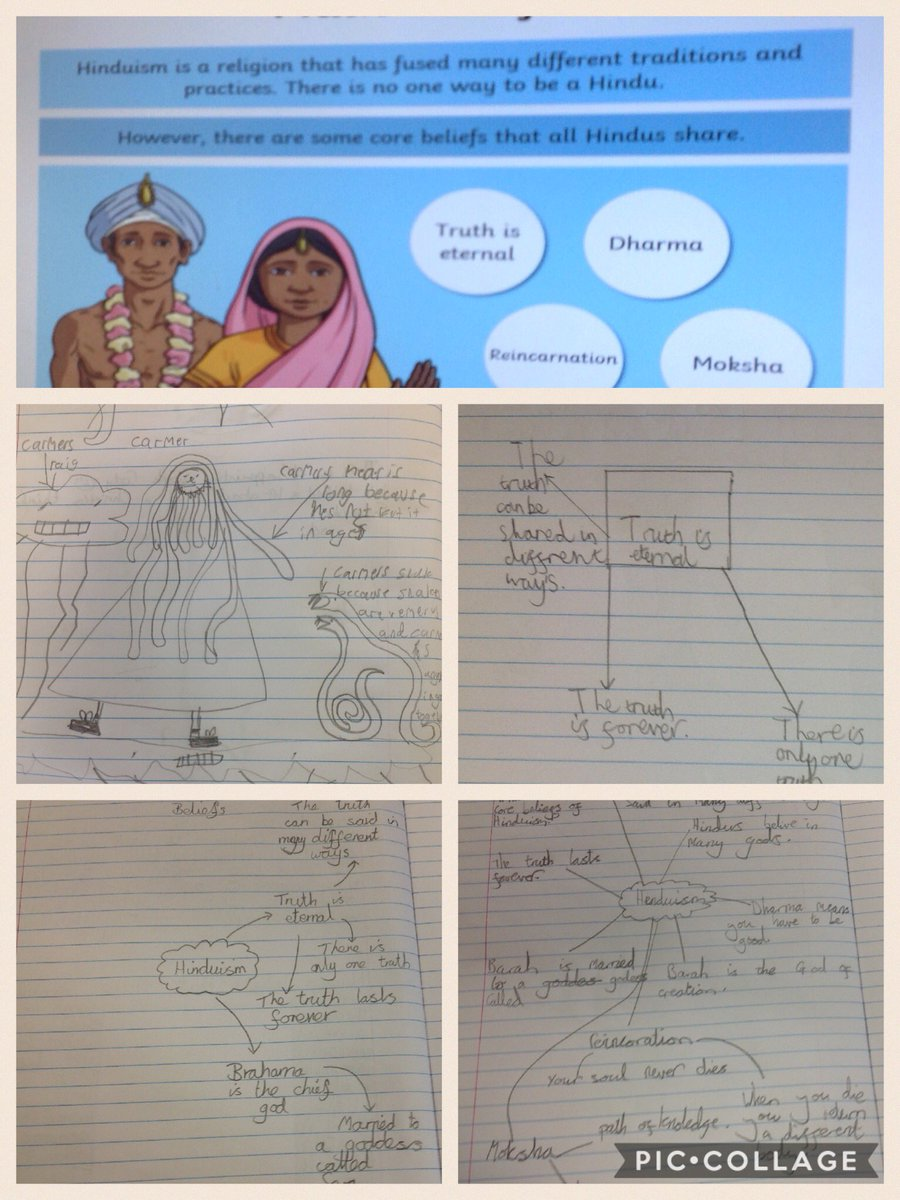 """test Twitter Media - Learning about the main beliefs in Hinduism #gorseyre """"Dharm makes me think about the choices I make."""" https://t.co/s77MuuVdb6"""