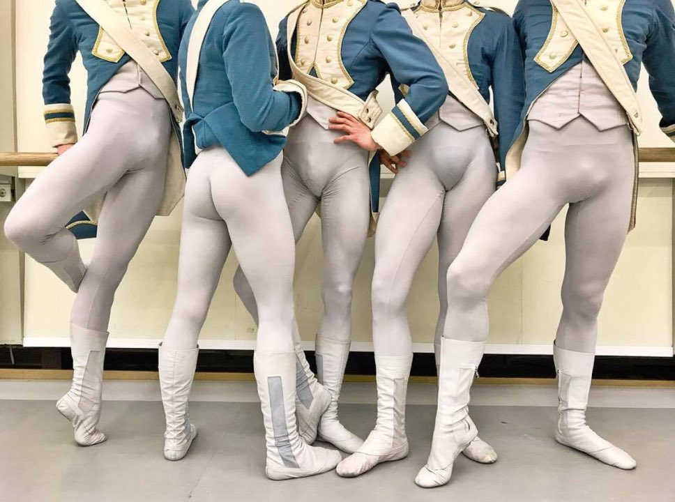 Dr Dancebelt On Twitter Uniformity Is The Binding Principle Of Corps Dancing Many Companies Provide Dance Belts So Even Bulges Match These Guys Didn T Get The Memo Https T Co Ksickxuktz