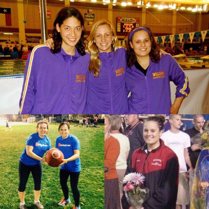 Happy birthday to former swimmer, Liz Visconti!