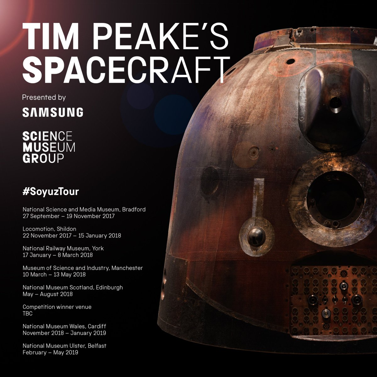 tim peake anthony coulls science museum and nat railway museum