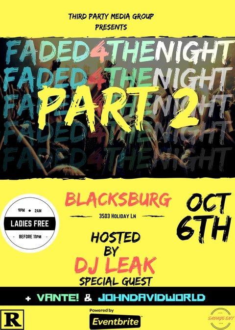 A few changes made but we got it done! Hope everyone can make the new date, it&#39;s gonna be a movie  FREE drinks 21+ @GottaBig_Tweet #RU #VT <br>http://pic.twitter.com/CKke6SaUzx