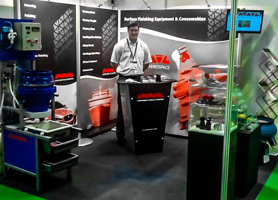 For all your #vibratory #finishing #solutions visit us on Stand G51 at this year&#39;s #tctshow #birmingham @thenec @TCTEvents #3Dprinting<br>http://pic.twitter.com/QlyFvnlbei