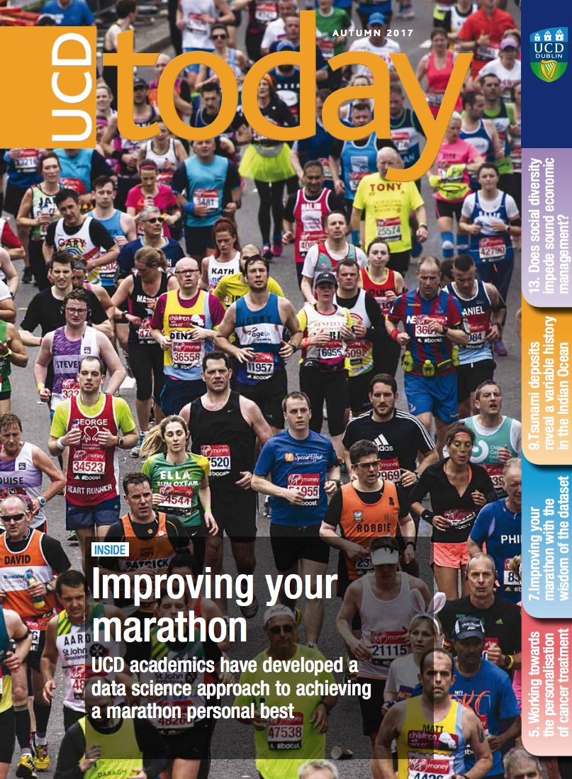 Nice Marathon + #DataScience article in UCD Today from @barrysmyth @PadraigC  http://www. ucd.ie/ucdtoday/  &nbsp;  <br>http://pic.twitter.com/tyJV7FlsVw