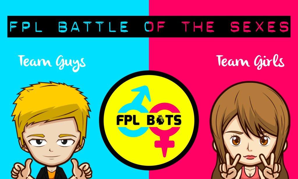 #FPL Battle of The Sexes GW6 Results #FPLBoTS TeamGuys won! … https://fantas ypremierleaguehappyhour.wordpress.com/2017/09/26/fpl -battle-of-the-sexes-gw6-results/ &nbsp; … <br>http://pic.twitter.com/BdB6gyhBwb