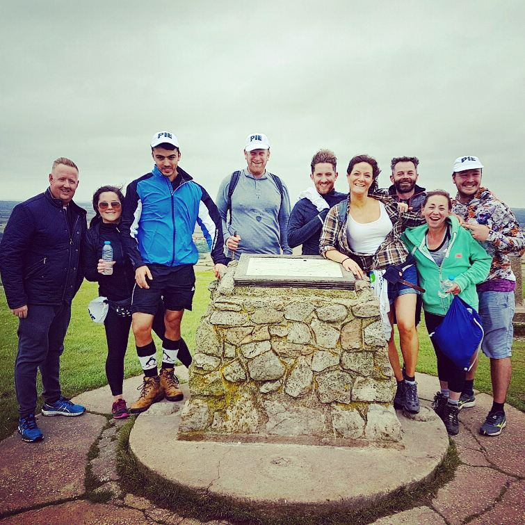 #CharityTuesday &amp; we&#39;re reminiscing on our recent hike to raise money for @renniegrove #Charity #TeamWork #TeamPIE  http:// bit.ly/2r2bbKX  &nbsp;  <br>http://pic.twitter.com/SD72qCkPN5