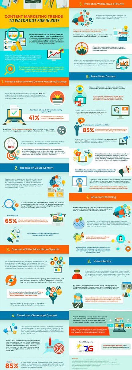 Top 2017 #Content #Marketing Trends [infographic] #ContentMarketing #Video #Digital #Influencer #VR #AI #GrowthHacking  #IoT<br>http://pic.twitter.com/nh80x28kG0