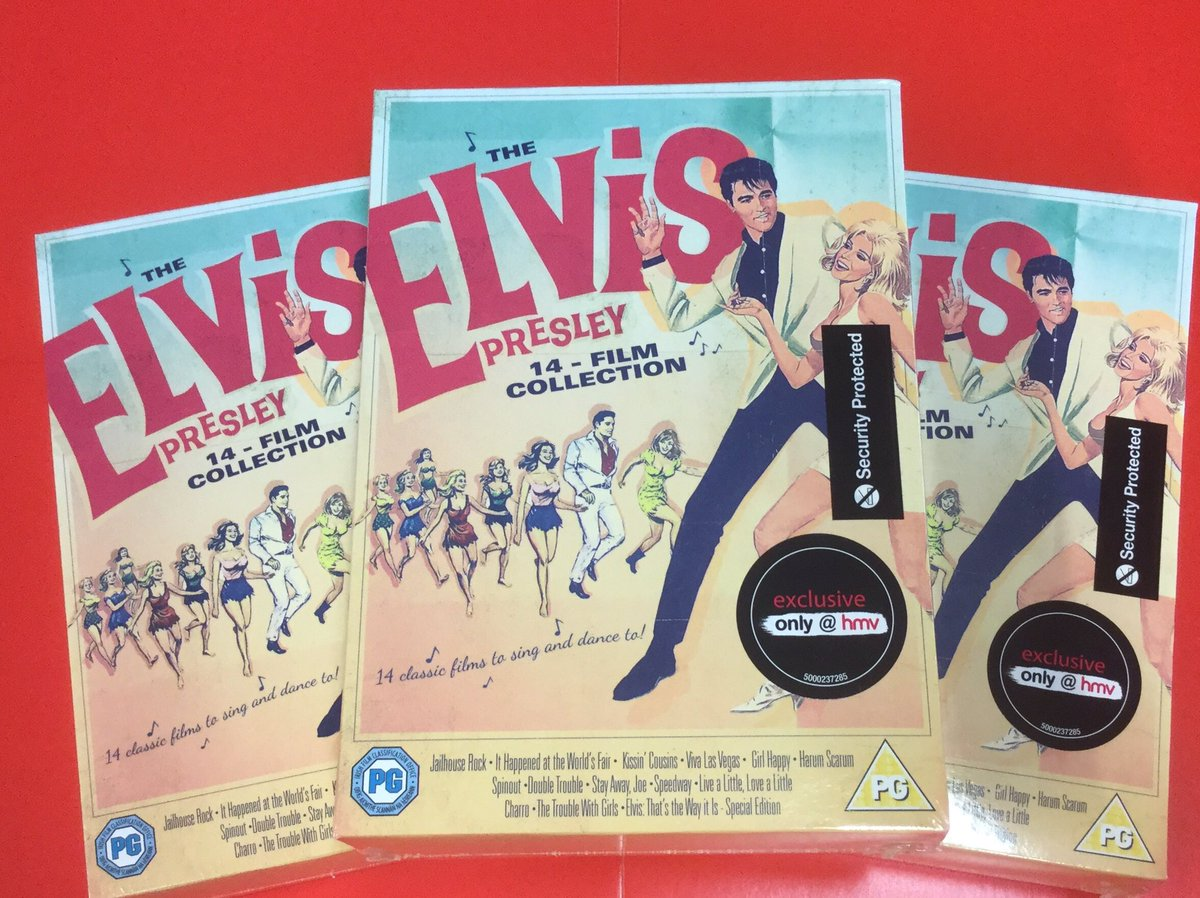 #ElvisPresley fans, a brand new #hmvExclusive 14 film box set is available now! Purchase in-store &amp; online:  http:// hmv.co/NmHyEj  &nbsp;  <br>http://pic.twitter.com/SP0r6pFDNj