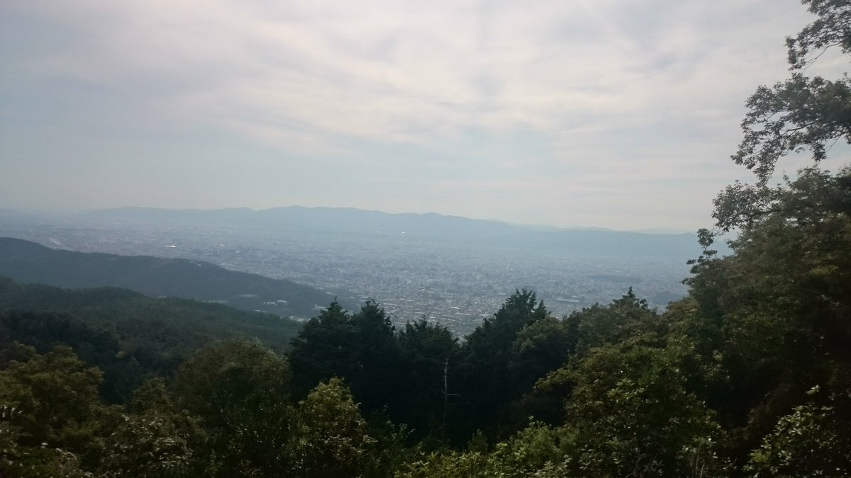 Went #hiking last weekend and had a nice view on #Kyoto while having lunch break<br>http://pic.twitter.com/ycd4j9WIhE