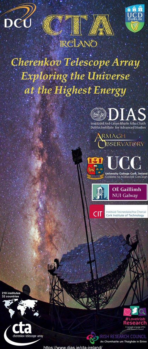 test Twitter Media - October 11th @DunsinkObserve two talks on Cherenkov Telescope Array by Prof.  @JohnQuinnUCD and Dr Masha Chernykova  https://t.co/2HHVTUiazS https://t.co/HmdofEmtq9