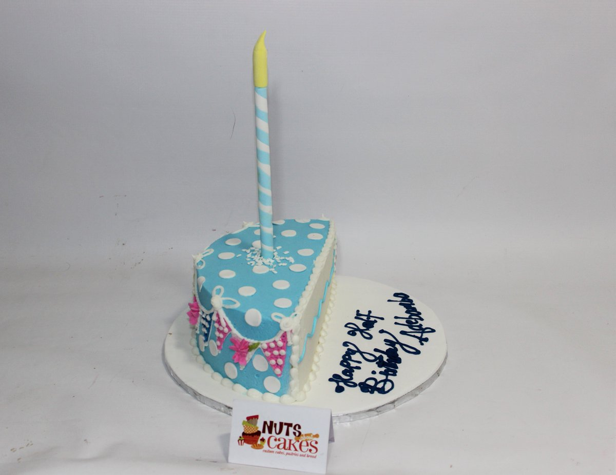 Nuts About Cakes On Twitter Check Out This Half Birthday Cake For