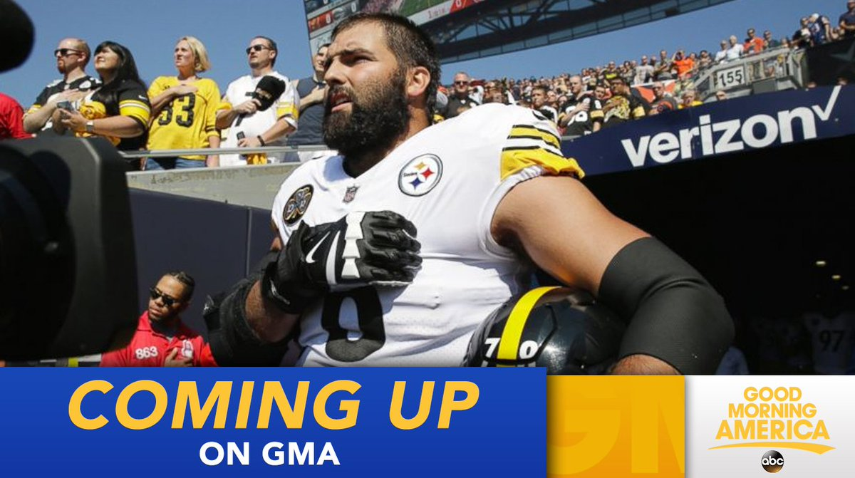 3a43ddf7c coming up on steelers alejandro villanueva former us army ranger says he  was embarrassed by solo