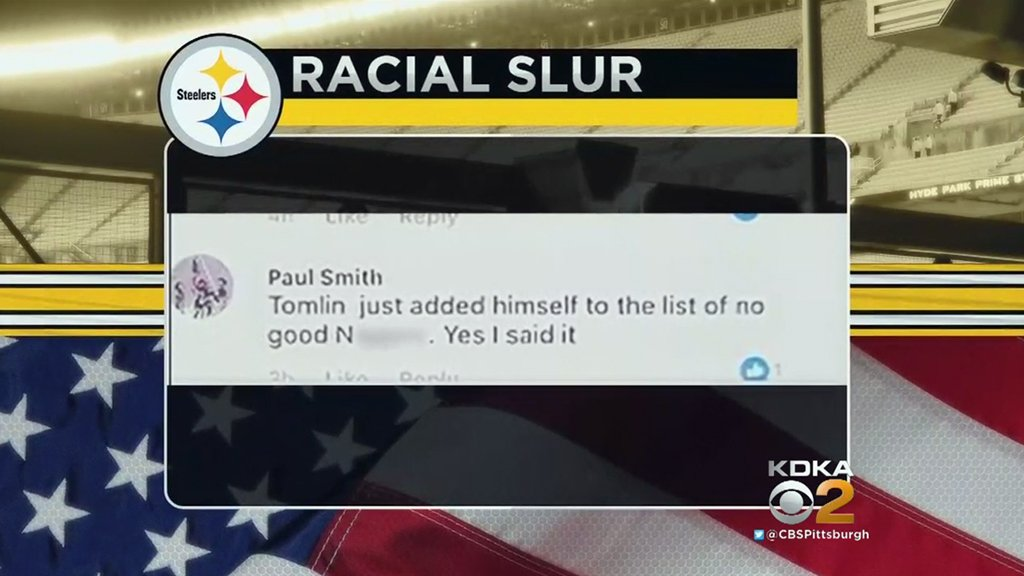 Fire chief 'embarrassed,' 'regrets' using racial slur against  coach Mike Tomlin. 's report:  https://t.co/3WzZhka7JP