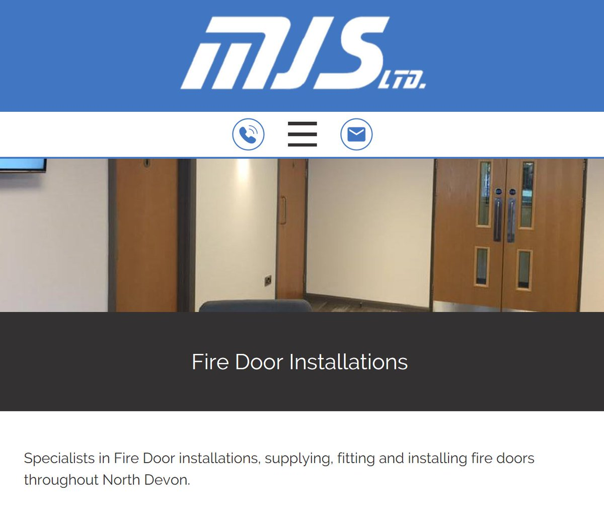 MJS Building Maint on Twitter  Specialists in Fire Door installations supplying and fitting here in Barnstaple North Devon #firedoorsafetyweek ...  sc 1 st  Twitter & MJS Building Maint on Twitter:
