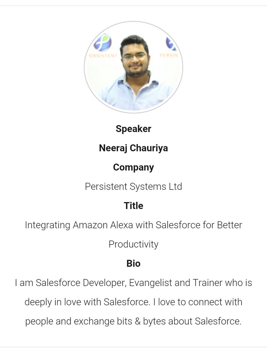 Fellas, The biggest Indian #Salesforce Community event @sfindiadreamin is near. Experience the power of #SalesforceOhana, be part of it!<br>http://pic.twitter.com/oD6feuk6fq
