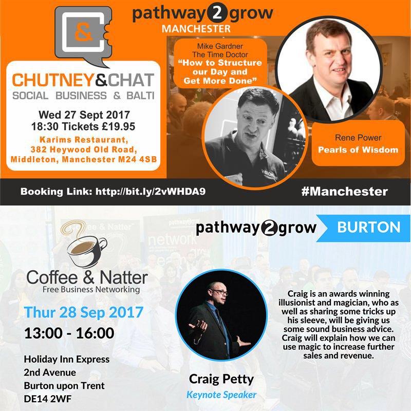 #TimeManagement &amp; #Productivity #Expert @thetimedoctoruk is speaking at #ChutneyandChat #Manchester &amp; #CoffeeandNatter #Burton this week!<br>http://pic.twitter.com/jeerwIPmRH