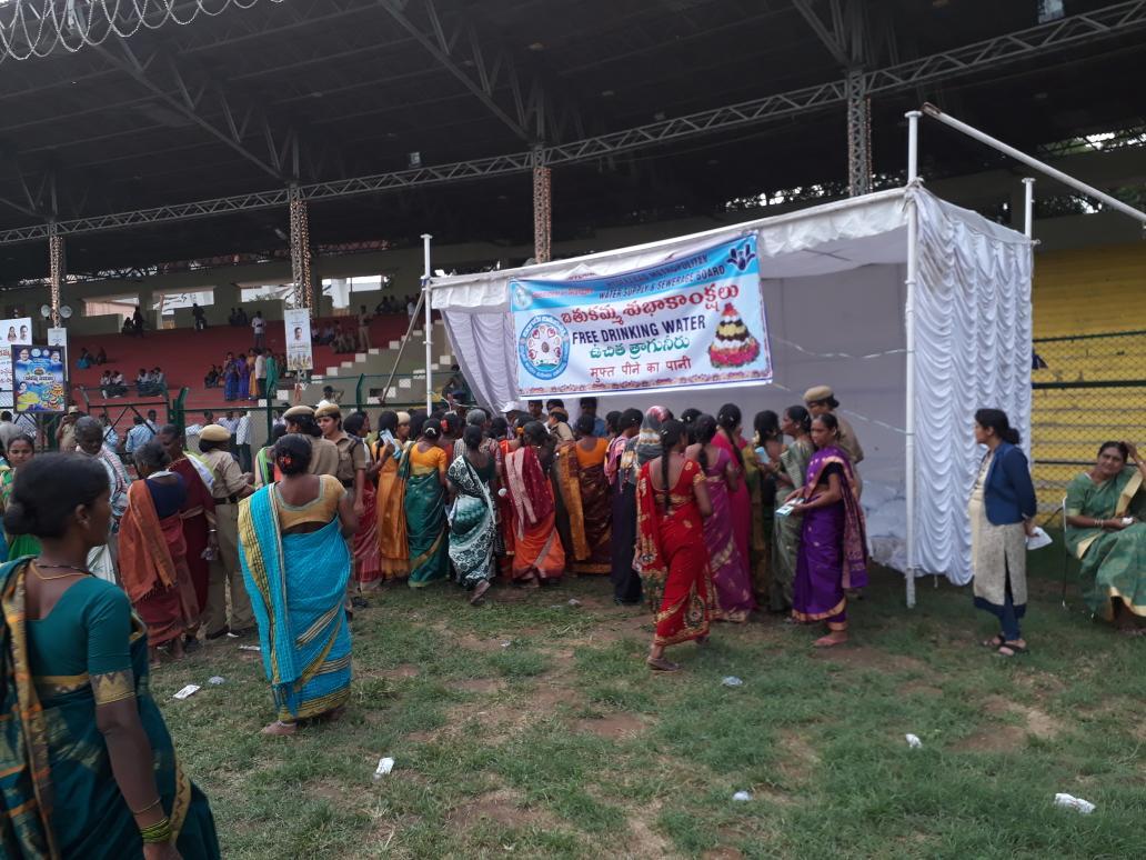 @HMWSSBOnline #MahaBathukamma celebrations at LB Stadium #Telangana <br>http://pic.twitter.com/ddsXrqNHdz