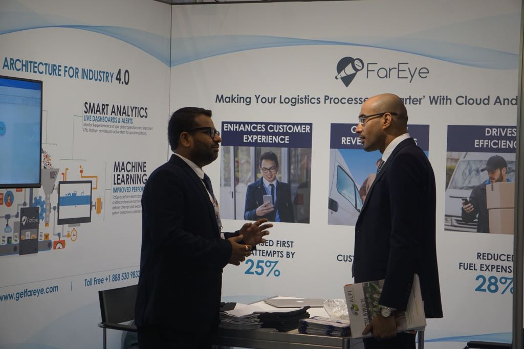 @gautamrwpl COO,FarEye in conversation with @Post_Expo attendees #GetFE #postexpo #innovation #technology #delivery #parcel #SmartLogistics<br>http://pic.twitter.com/kBANLms80P