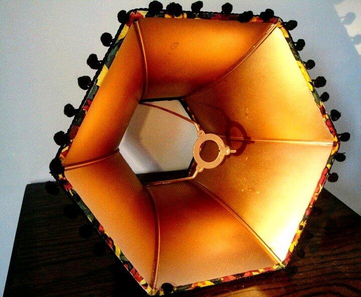 Seriously look at that glow!! #handmade #lampshade #golden #handmadehour #giftideas #womaninbiz #etsy #etsyuk #etsyshop #madeinwales #craft<br>http://pic.twitter.com/YJm0fqDQyj