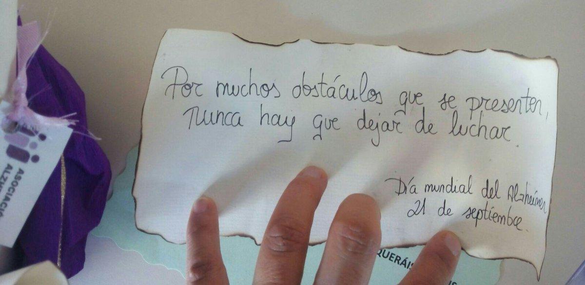 Alzheimer Alicante Sur Twitter Con Motivo Del Día Mundial