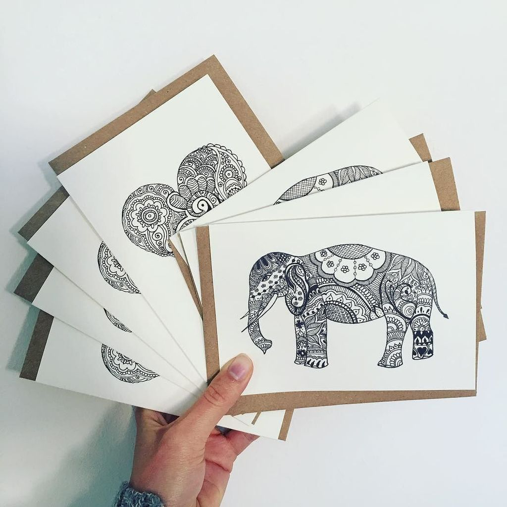 Super chuffed to be sending these lovely cards off to Leicester for a hen party this weekend  . . #elephant #he…  http:// ift.tt/2k0WOY2  &nbsp;  <br>http://pic.twitter.com/yv35k03nS2