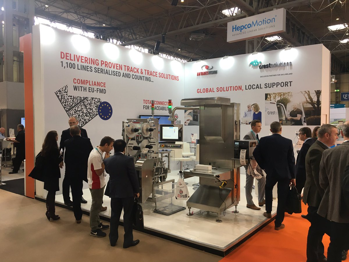 Off to a busy start here @ppmashow 2017! Visit us @ F62 to see proven #serialisation #solutions for #EUFMD #PPMAshow<br>http://pic.twitter.com/5sZMcfnL3u &ndash; at NEC