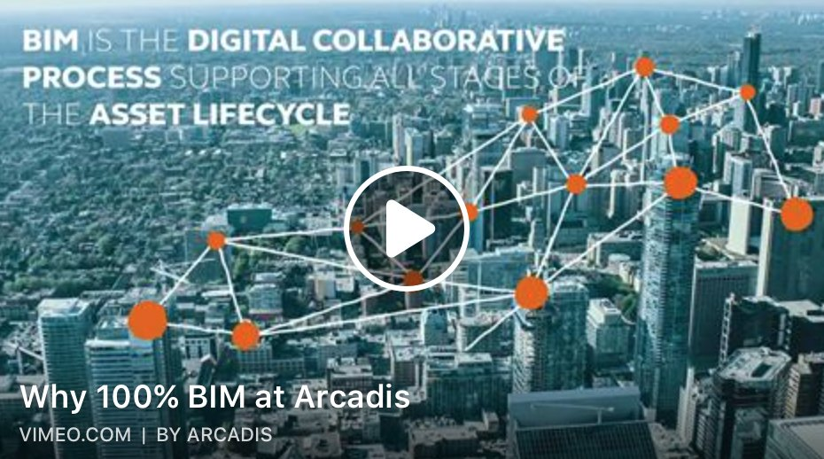 100% BIM at Arcadis? This awesome video explains you all about it!  http:// arcad.is/2JtanB  &nbsp;    #digital #sustainability4impact #arcadisgs<br>http://pic.twitter.com/p5vjOJ0ga3