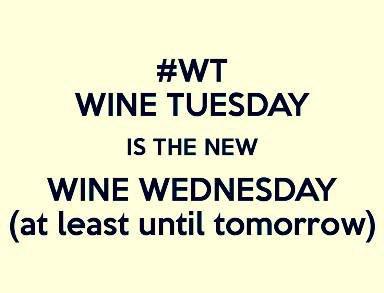 Happy #WT everyone!  Who wants some #wine tonight?  #OnceUponAWine #WineTuesday #WineWednesday #WineNot!  New #wineday <br>http://pic.twitter.com/cvqOonppls