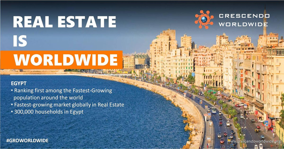 #Egypt is the #fastest-growing market globally in #RealEstate <br>http://pic.twitter.com/y4JTtSferj