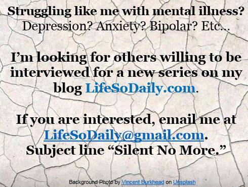Looking forward to hearing from you! #Depression #MentalHealth #MentalIllness #SuicideAwareness #SuicidePrevention #Bipolar #Anxiety<br>http://pic.twitter.com/vYehyxK4YH