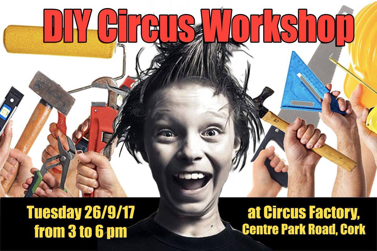 #trainingop #Circus #DIY today @circusfactoryc #Cork today at 3pm! #isacsartists<br>http://pic.twitter.com/JNlhRPjEfX