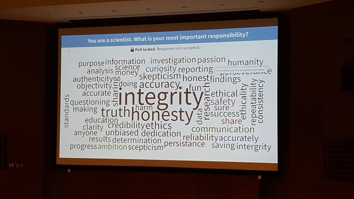 Our future scientists get it @CU_BIOG3500  #CUinthelab #highered #activelearning #ethics #credibility #integrity #communication #scicomm<br>http://pic.twitter.com/7qDAUjazsS
