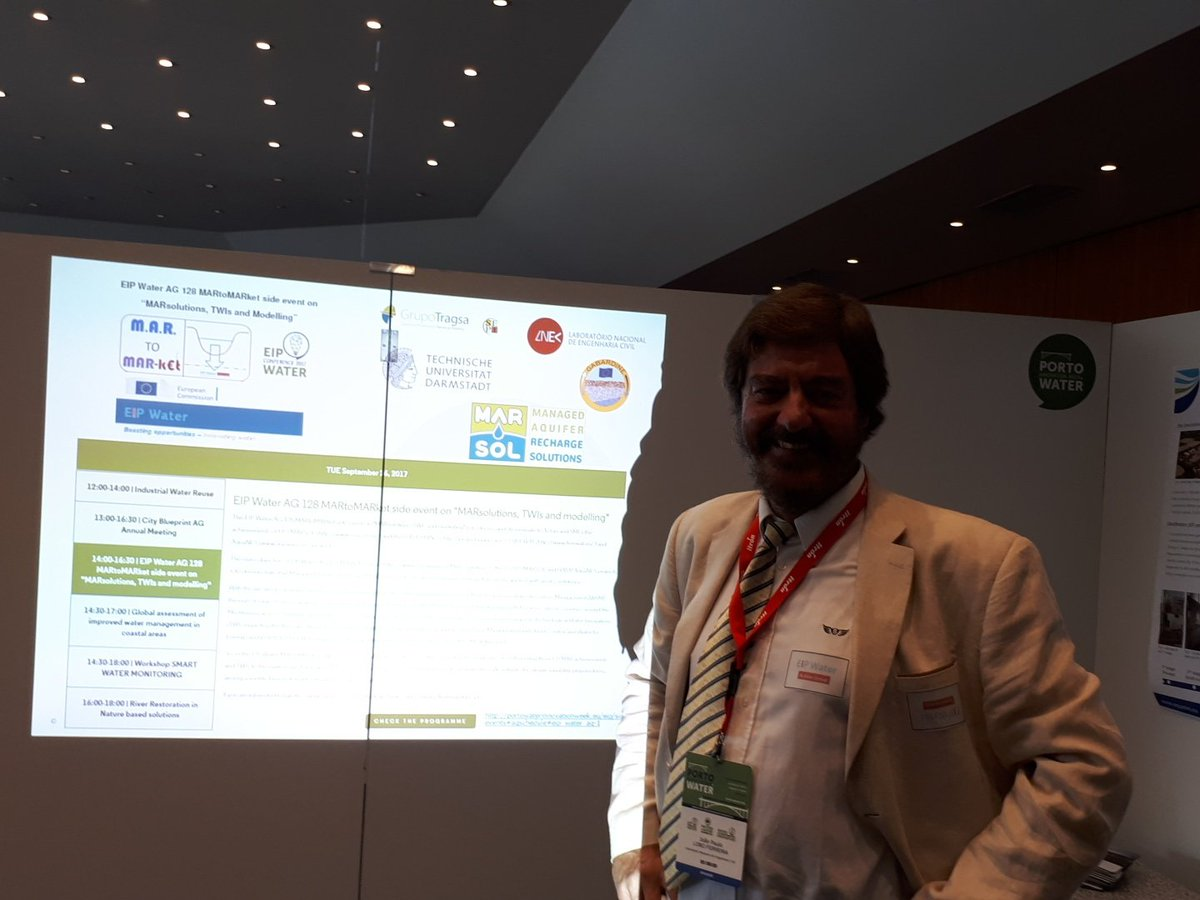 And L Ferreira starting the @eip_water action group #MAR to MARKET  #innovation in #groundwater managmt @ISMAR10MADRID @GWPMed @Blanca_IHP<br>http://pic.twitter.com/sjofleW1w8