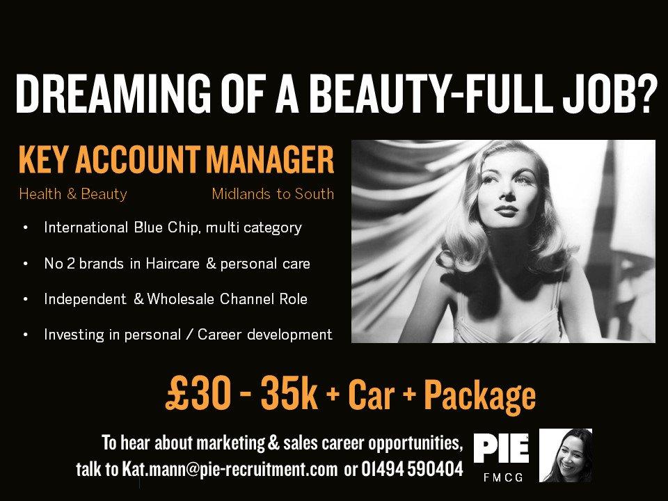 On the look out for a Beauty-full new #career? Contact @katmannPIE in our #FMCG Team  - 01494 590404 &gt;&gt;  http:// bit.ly/2v2vuN0  &nbsp;  <br>http://pic.twitter.com/ok2s7HwtGj